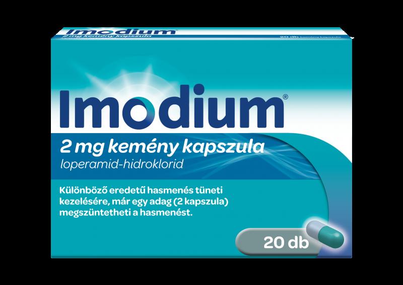Imodium® 2 mg kemény kapszula 20db