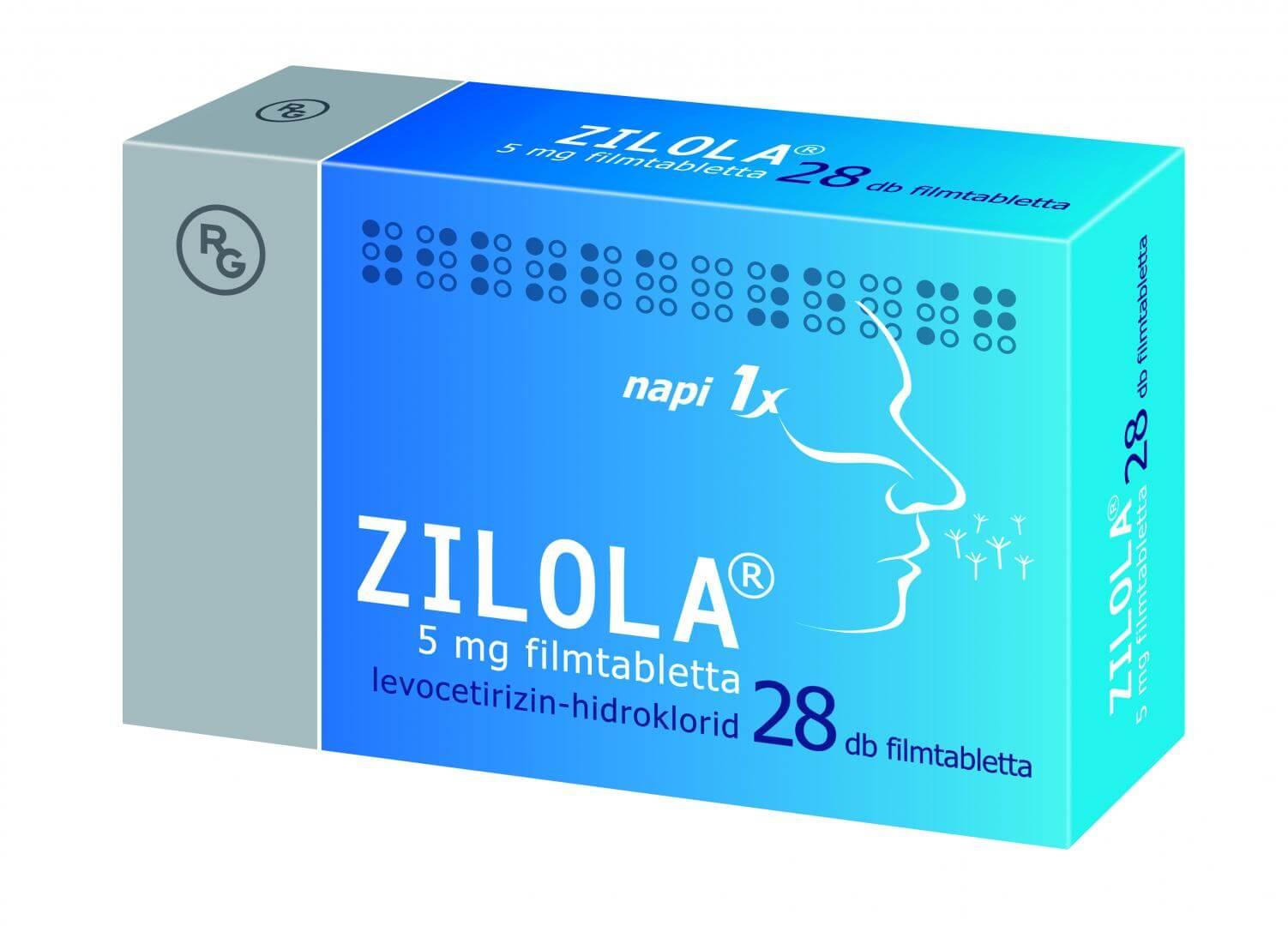 Zilola® 5mg filmtabletta, 28 db