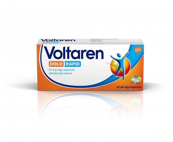 Voltaren Dolo Rapid 25 mg lágy kapszula, 20x