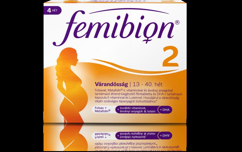 Femibion 2 Várandósság étrend-kiegészítő 28 db kapszula+28 db tabletta