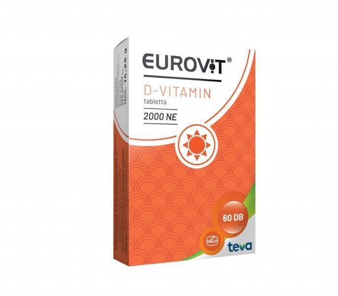 Eurovit D-vitamin 2000 NE 60X