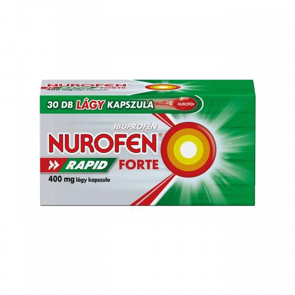 Nurofen Rapid Forte 400 mg lágy kapszula 30db