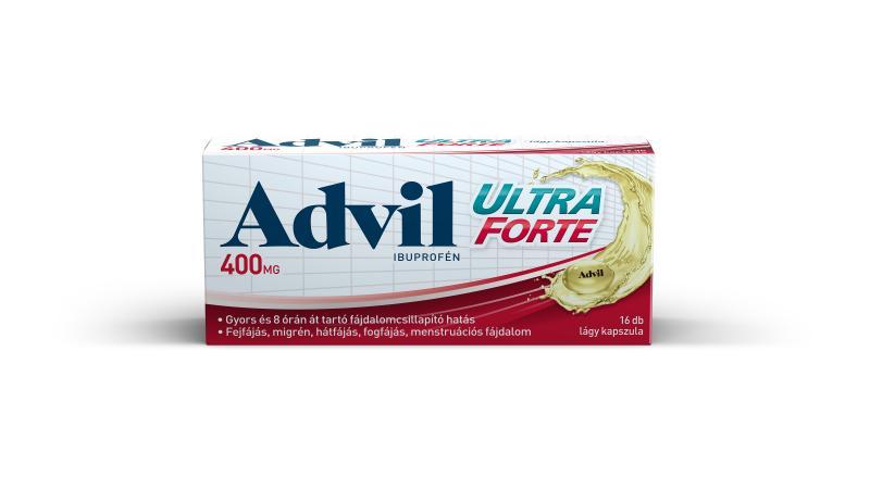 Advil Ultra Forte lágy kapszula, 16x
