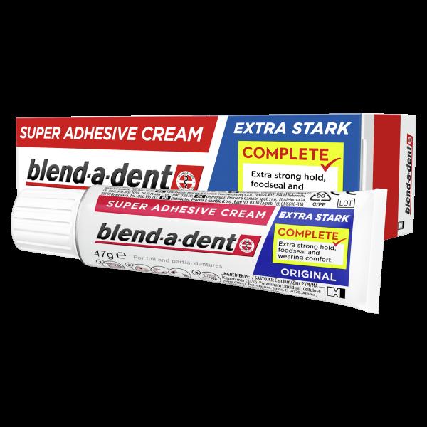 Blend-a-dent Extra erős original műfogsorragasztó 47g